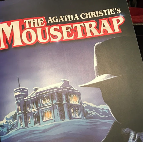 Backstage at Agatha Christie's 'Moustrap'