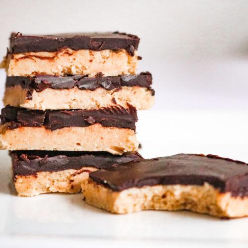 Keto Peanut Butter Beauty Bars