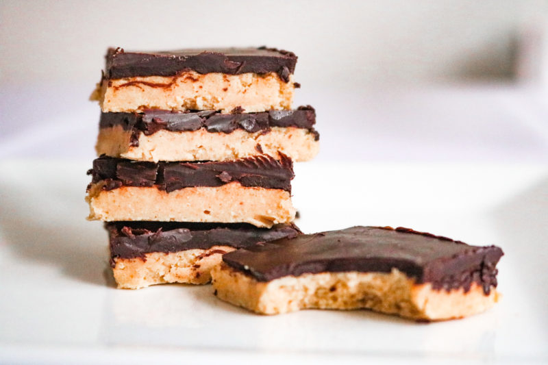 Keto Peanut Butter Beauty Bars